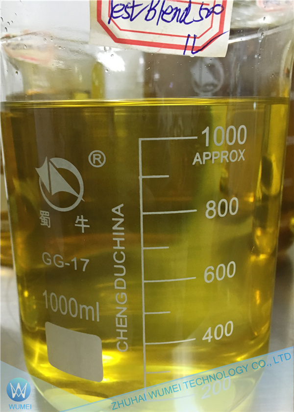 Ready Test Blend 500mg/ml Injection Steroid Liquid Testosterone Blend OEM Production